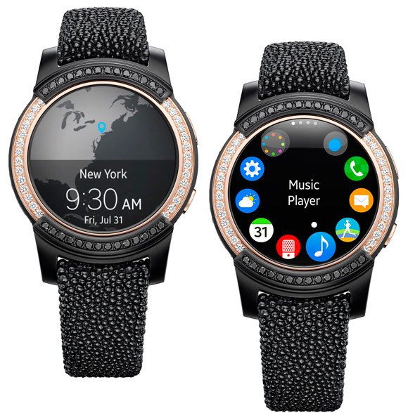 de Grisogno Samsung Gear S2 watch made its debut at Baselworld in 2016
