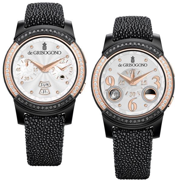 White dial version set with diamonds