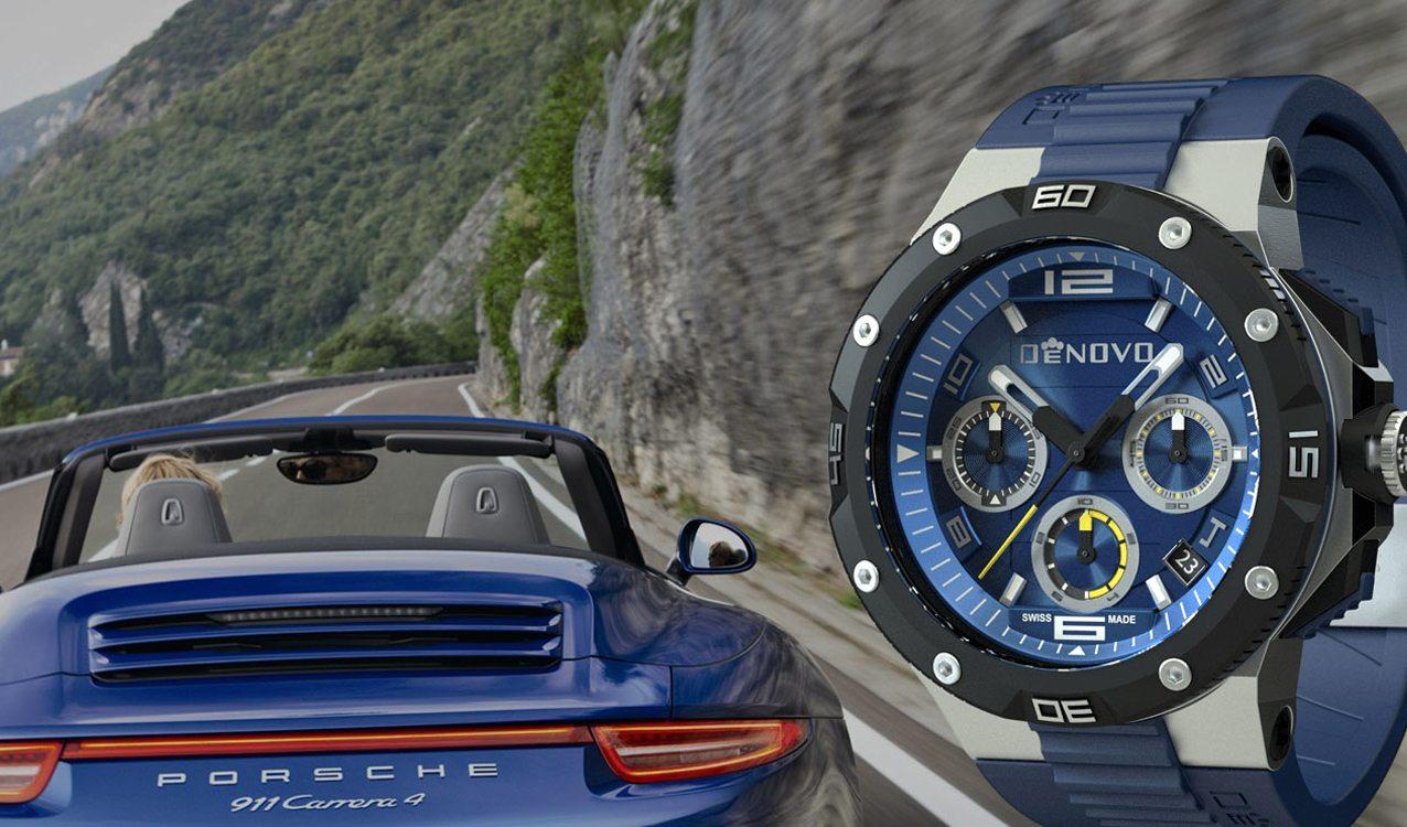 DeNovo officially launches with a Porsche 911 rally in Europe next week.