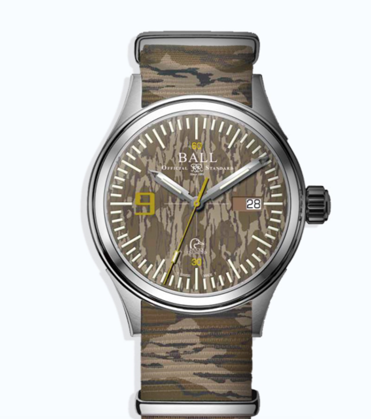 Ball Fireman Ducks Unlimited Watch
