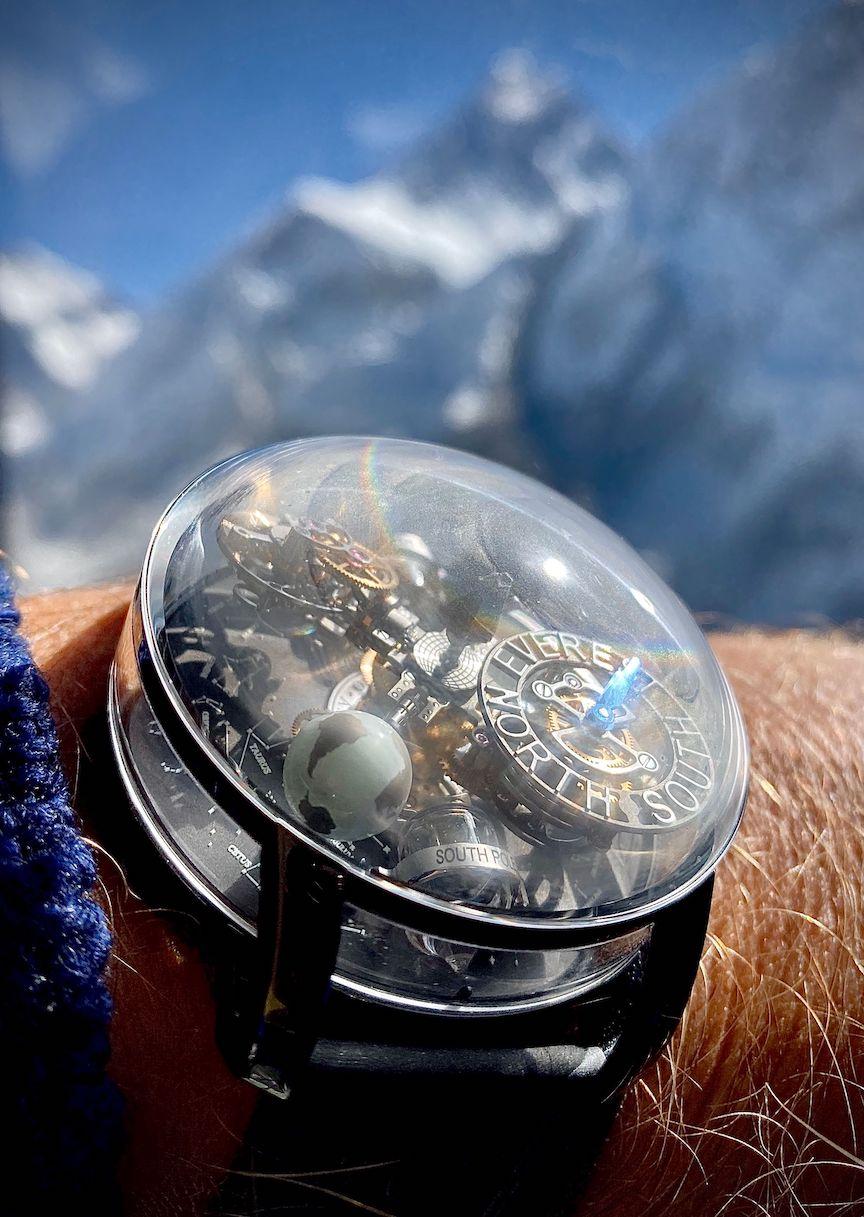 Jacob & Co. Astronomia Mt. Everest created with explorer Johan Ernst Nilson