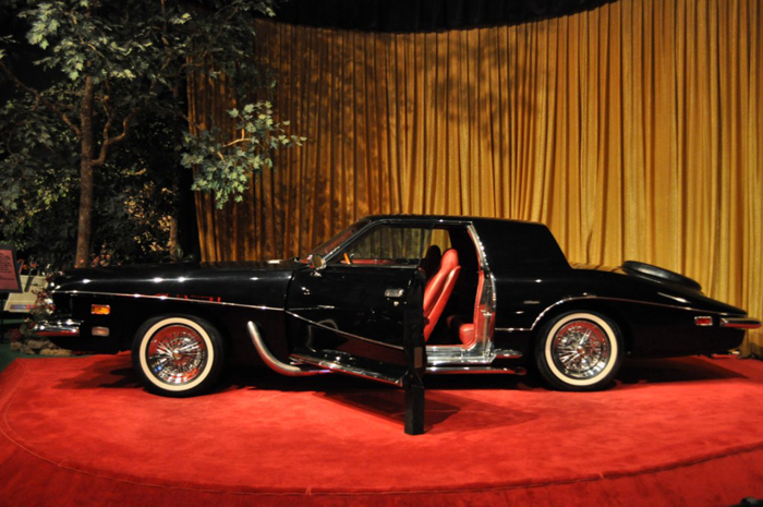 Elvis Presley's Stutz Blackhawk III is one of about 20 remaining cars driven/owned by Presley and now on display at Graceland.