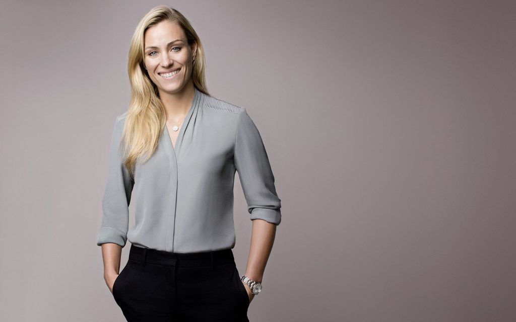 Tennis star and Wimbledon winner Angelique Kerber is a Rolex brand ambassador.