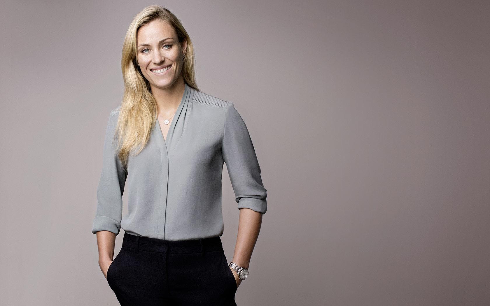 Tennis star and Wimbledon winner Angelique Kerber is a Rolex brand ambassador.