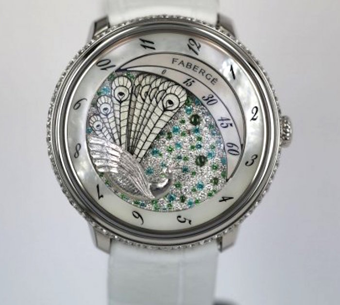 Faberge Lady Compliquee  Peacock