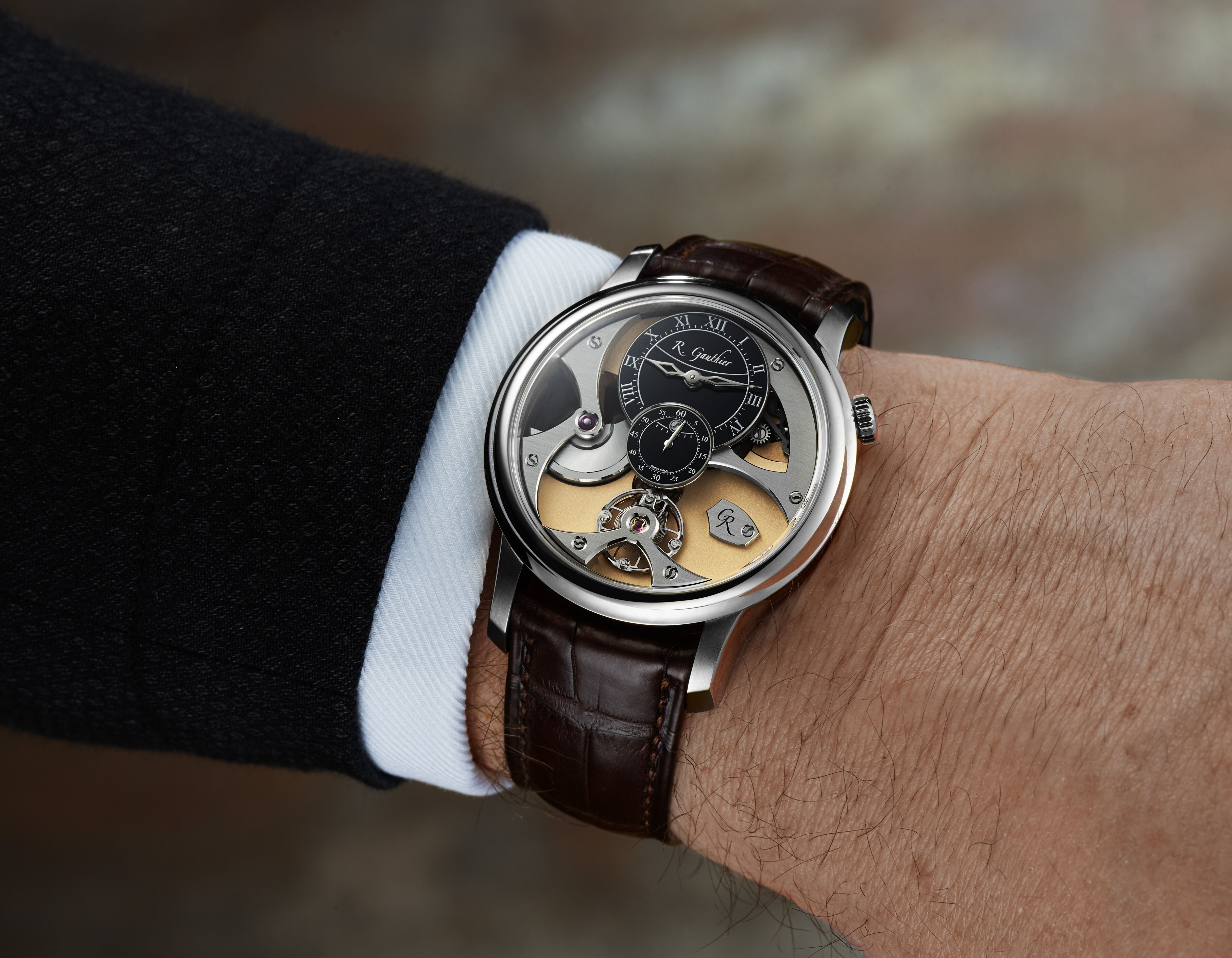 Romain Gauthier Insight Micro-Rotor White Gold Limited Edition