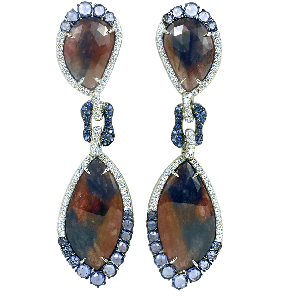 Giovanni Ferris Earrings to benefit American Friends of Soroka via the Charitybuzz auction going on now.