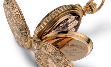 Girard-Perregaux Three Gold Bridges pocket watch