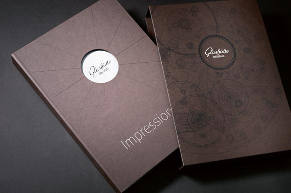 Glashutte Original's first Manufacture book, Impressions.