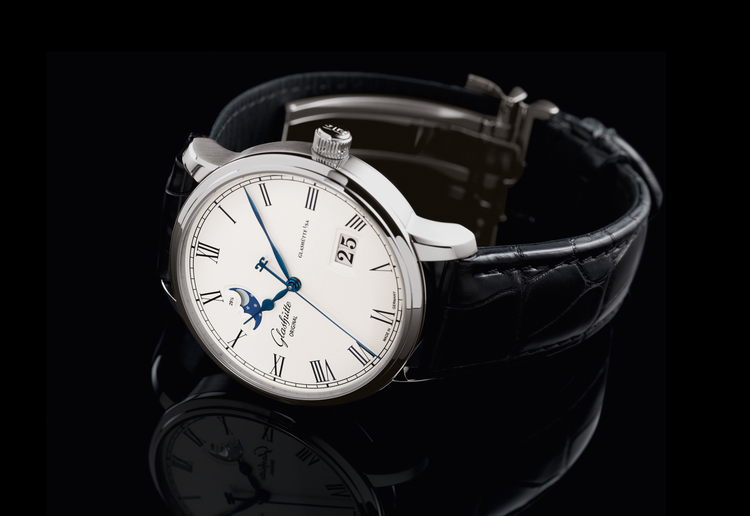 Glashutte Original Senator Panorama Date Moon Phase
