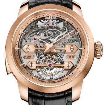Striking Watches: Girard-Perregaux Minute Repeater Tourbillon with Gold Bridges