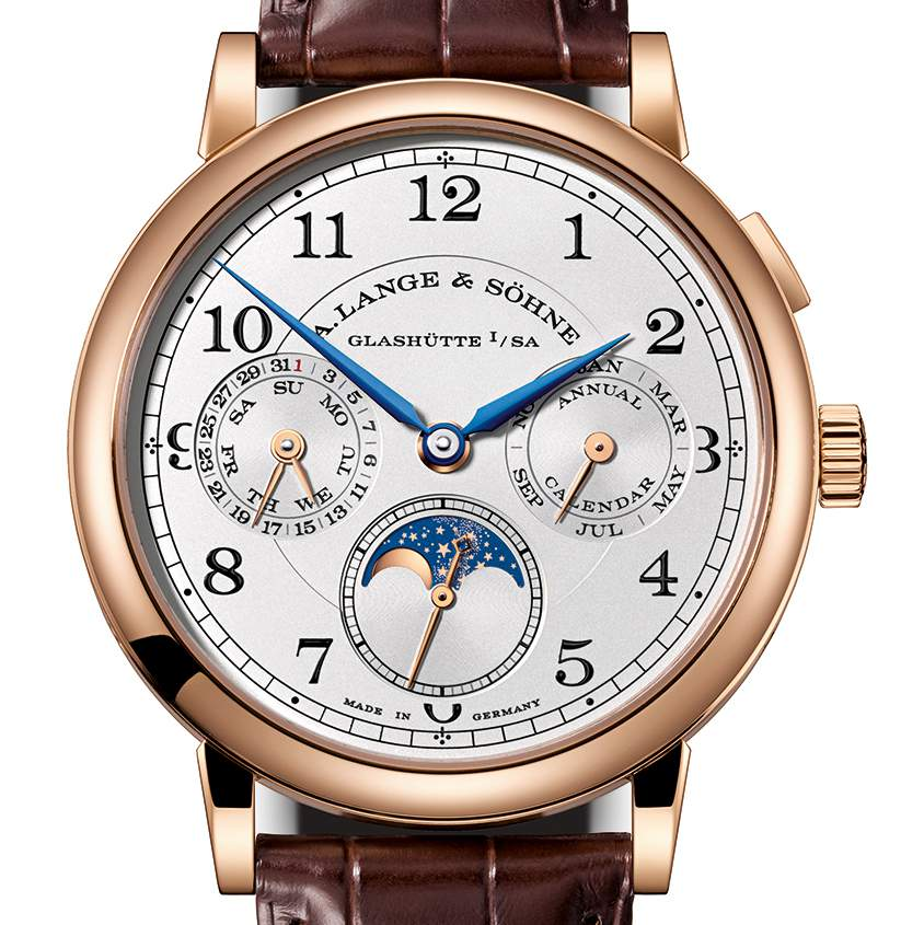 A. Lange & Sohne 1815 Perpetual Calendar watch, a GPHG 2017 contender.