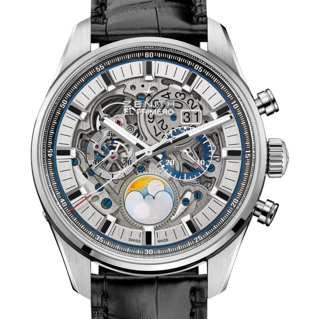 Zenith El Primero Grand Date Full Open Calendar watch for GPGH 2017 -- one of the top six calendar watches for 2017