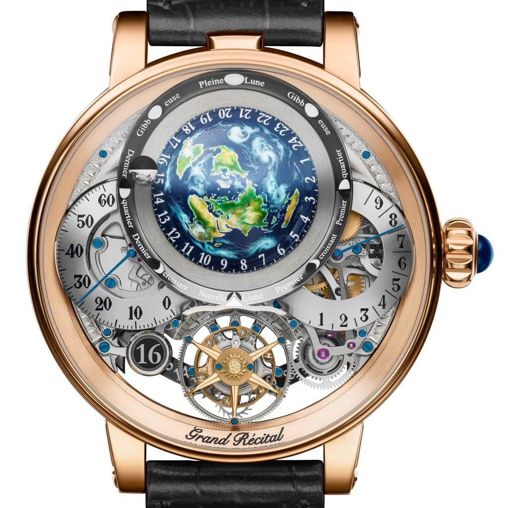 Bovet 1822 Wins GPHG 2018 Aiguillier D'Or Grand prize for Recital 22 Grand Recital.