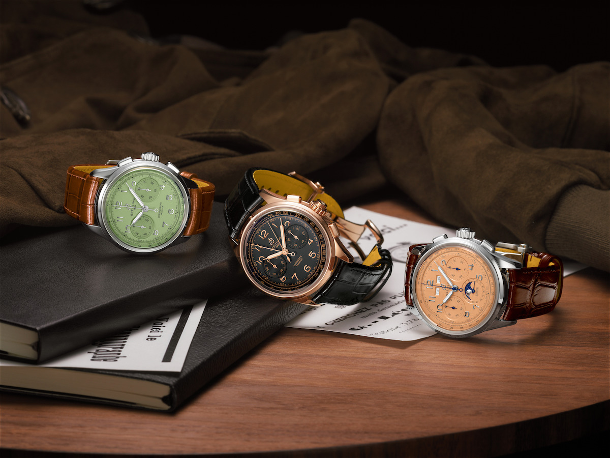 Breitling Premier Heritage collection.