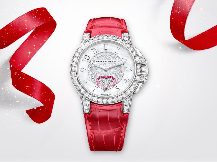 Harry Winston Ocean Valentine's Day watch