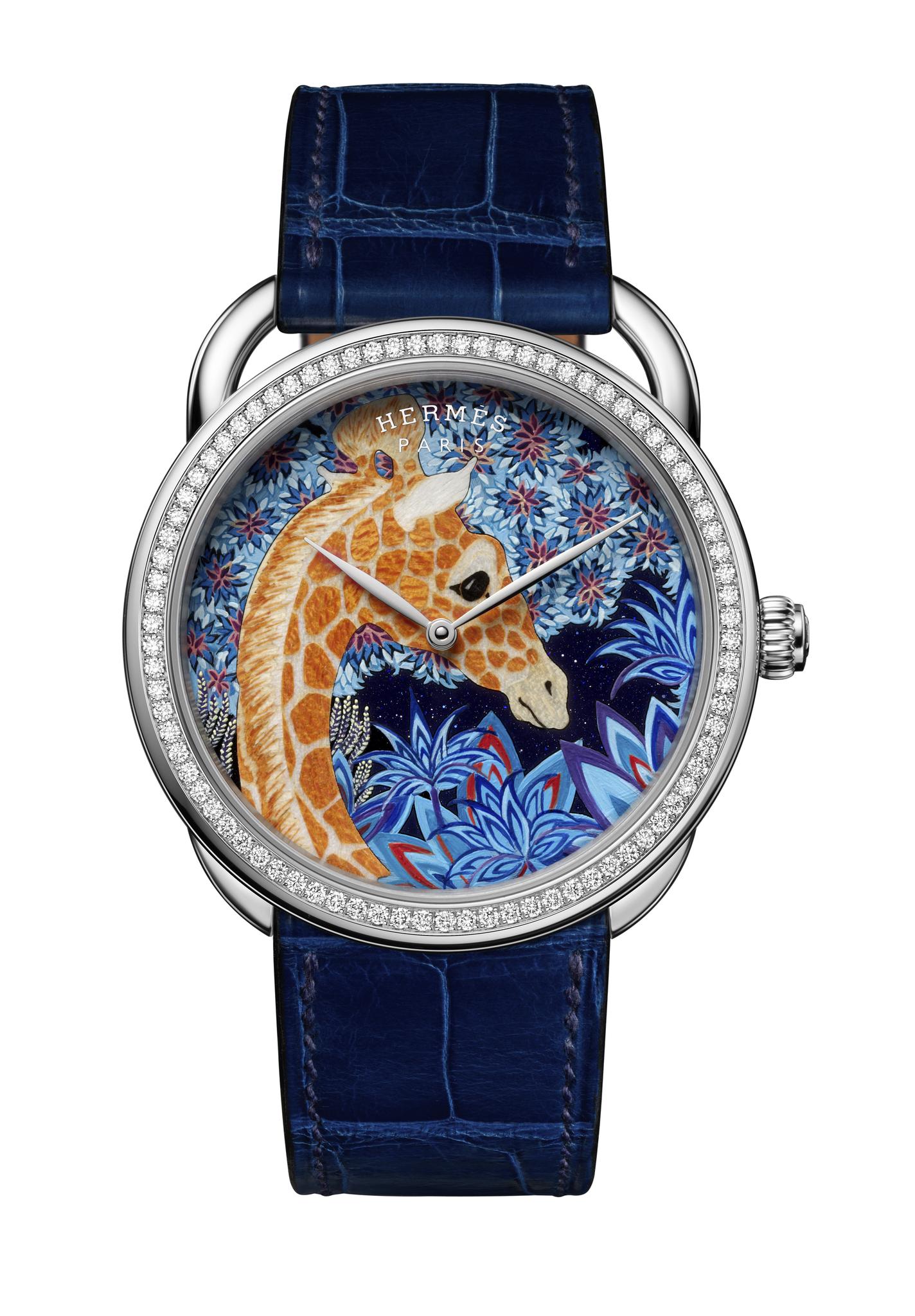 Hermes Arceau The Three Graces watch
