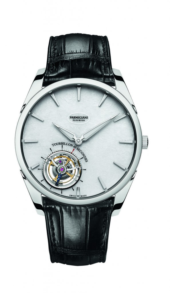The Tonda 1950 Tourbillon is the thinnest and lightest tourbillon  on the market currently