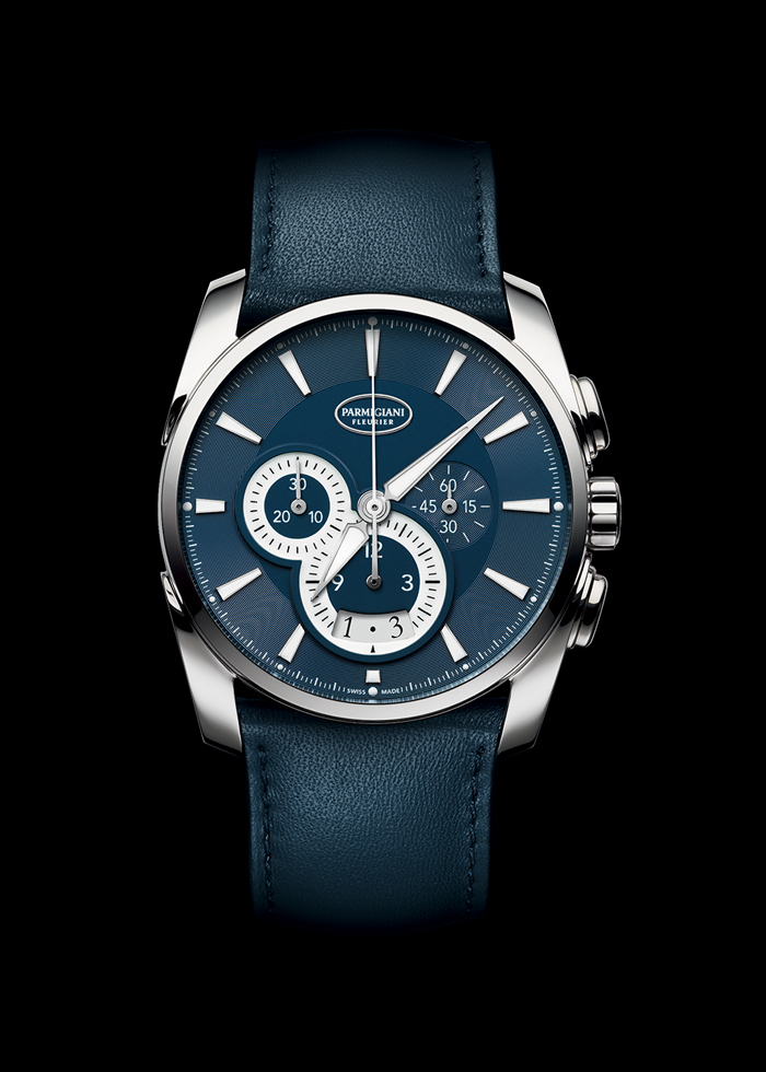 The new Parmigiani Fleurier Tonda Me'trographe in honor of Chicago features an Abyss Blue dial to emulate the vast Lake Michigan waters