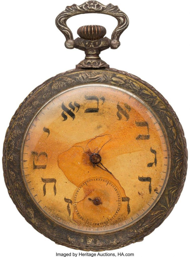 Titanic victim's pocket watch sells for $57,500 at Heritage Auction to ocean liner museum collector Miottel.