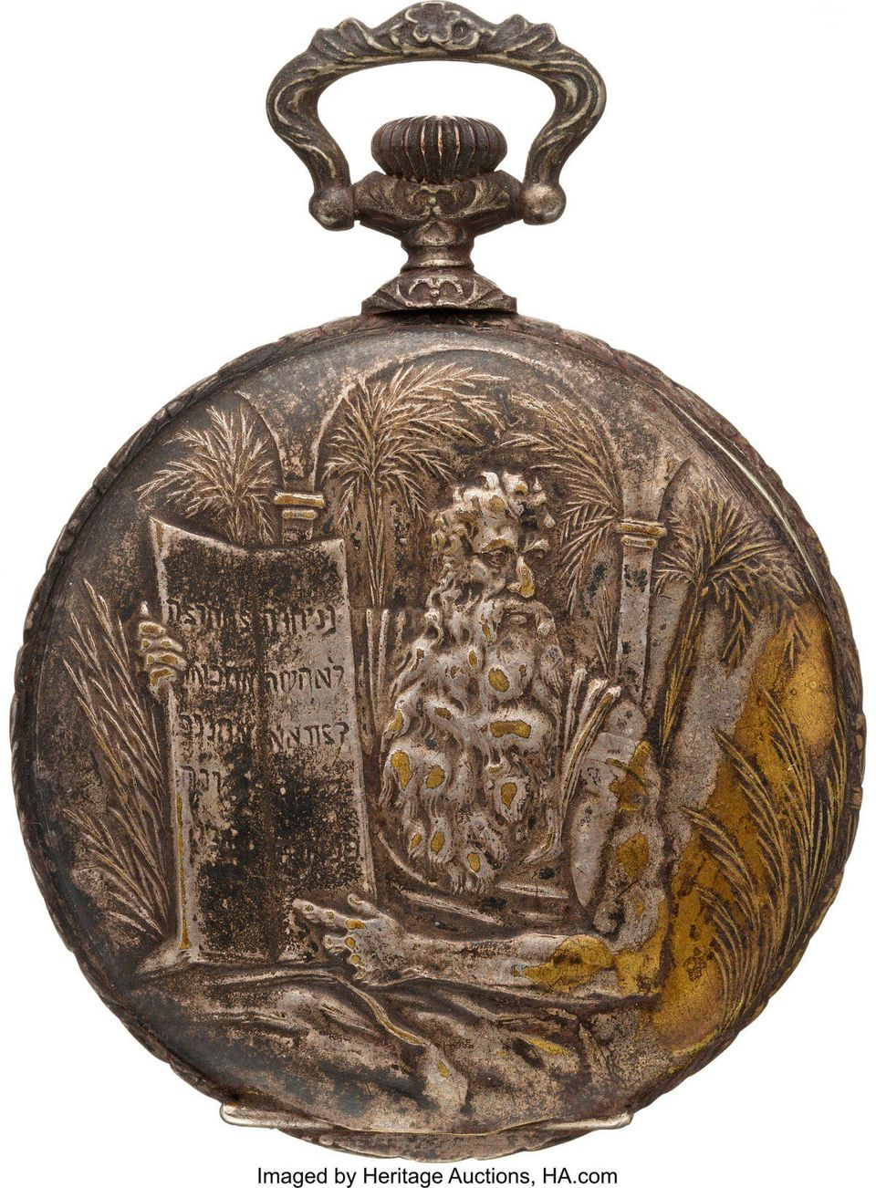 titanic pocket watch sells at auction