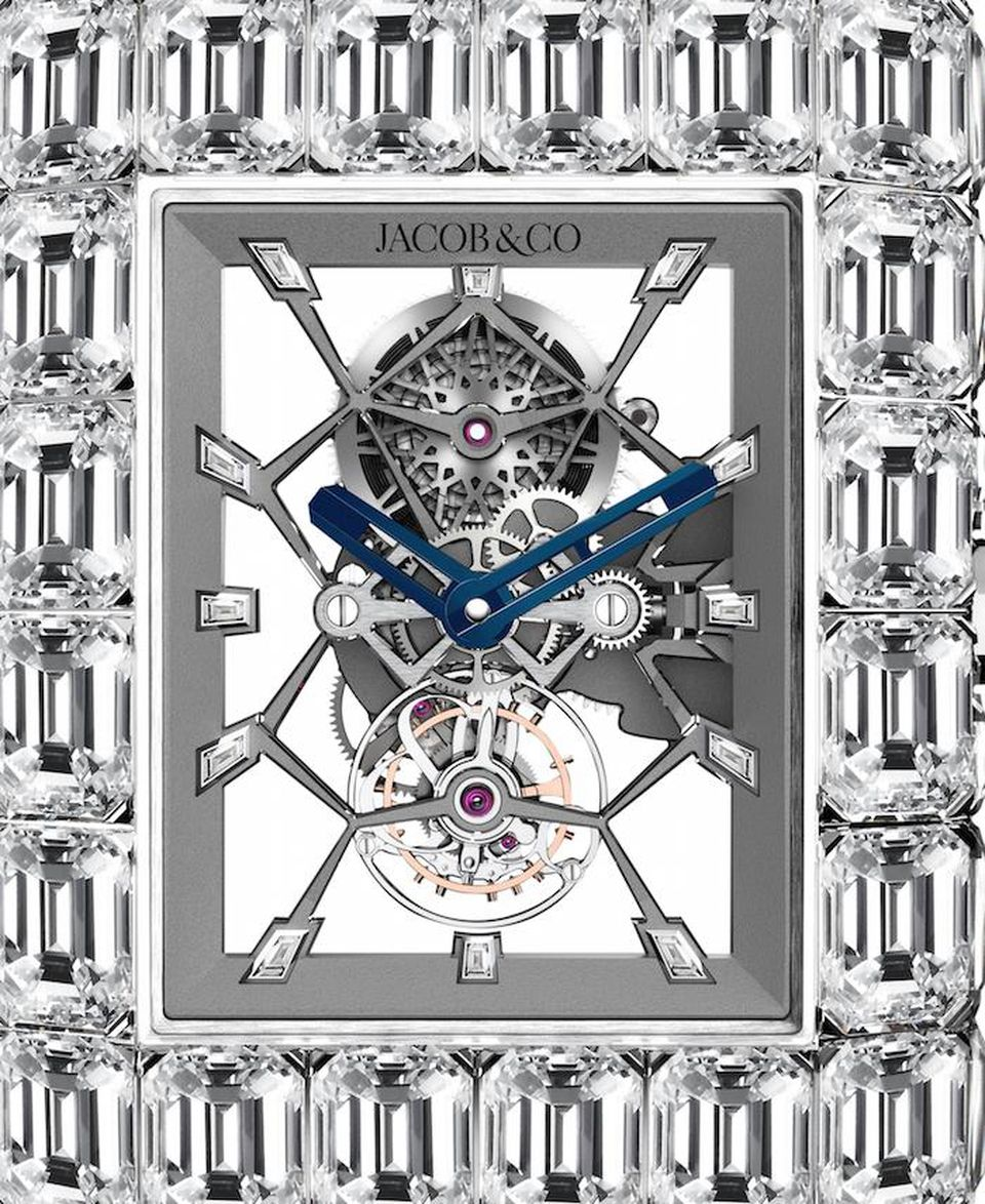 The $18 Million Jacob & Co watch that Floyd Mayweather bought is set with more than 200 diamonds.