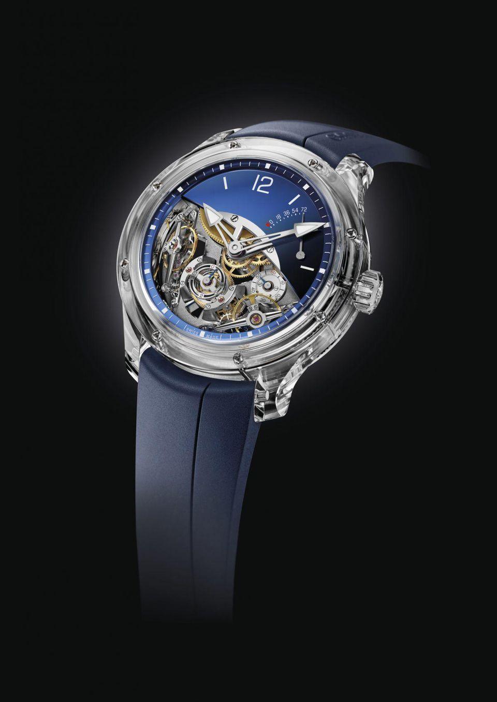Greubel Forsey Double Balancier Sapphire watch