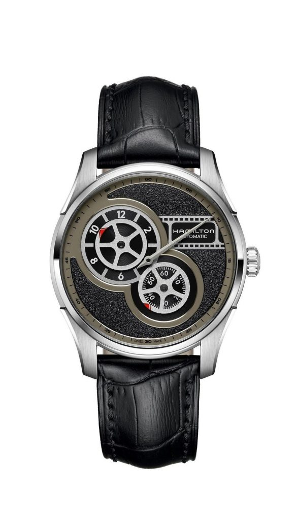 Hamilton Jazzmaster Regulator Cinema watch