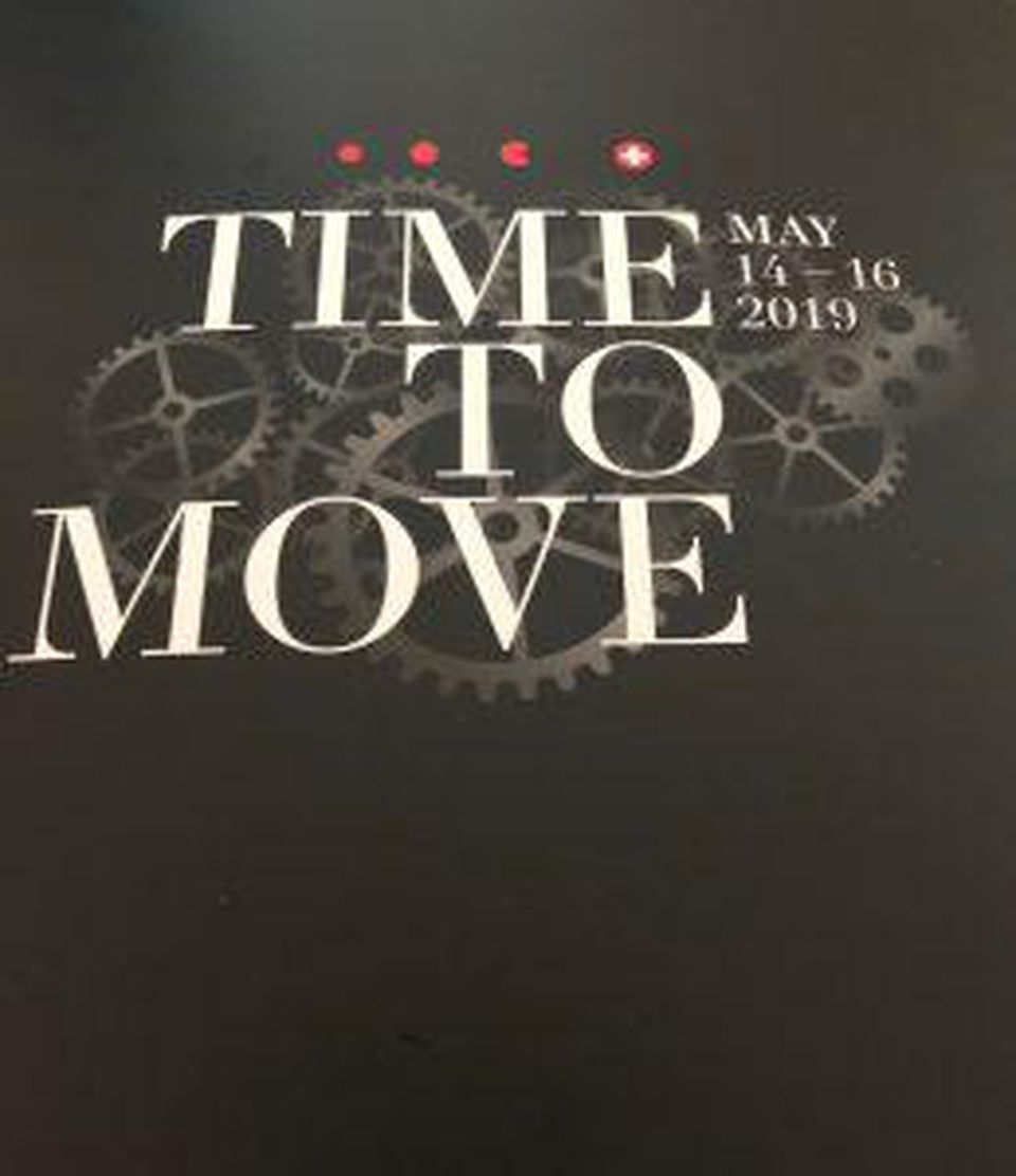 Swatch Group Time To Move event.