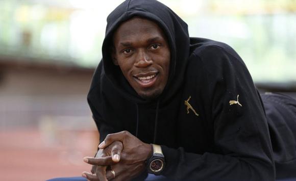 Usain Bolt is a Hublot brand ambassador