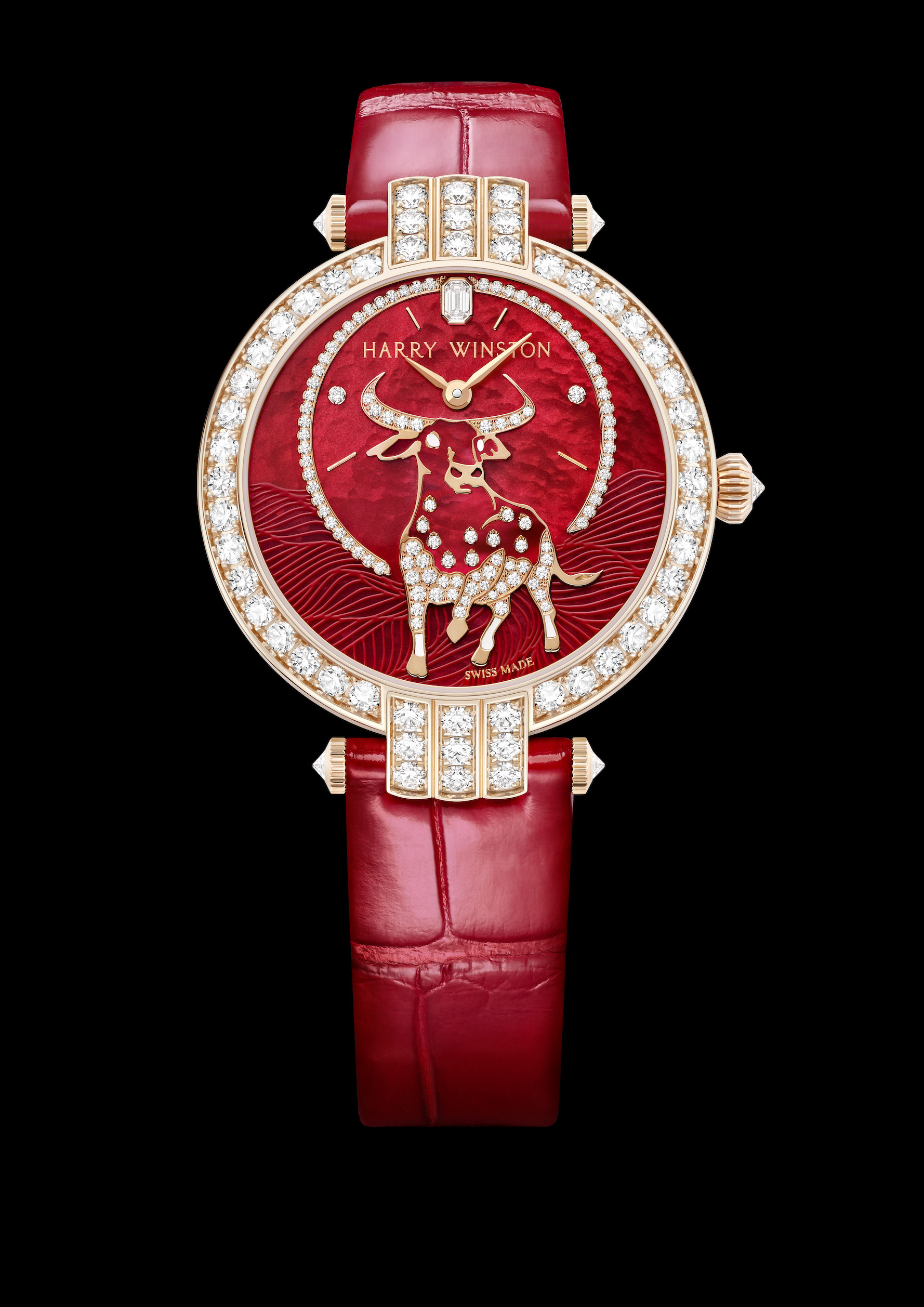 Harry Winston Premier Chinese New Year of the Ox watch