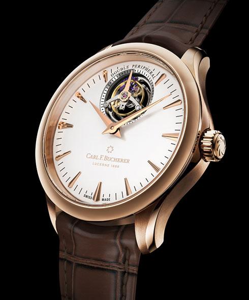 The Carl F. Bucherer Manero Tourbillon DoublePeripheral watch retails for $68,000.