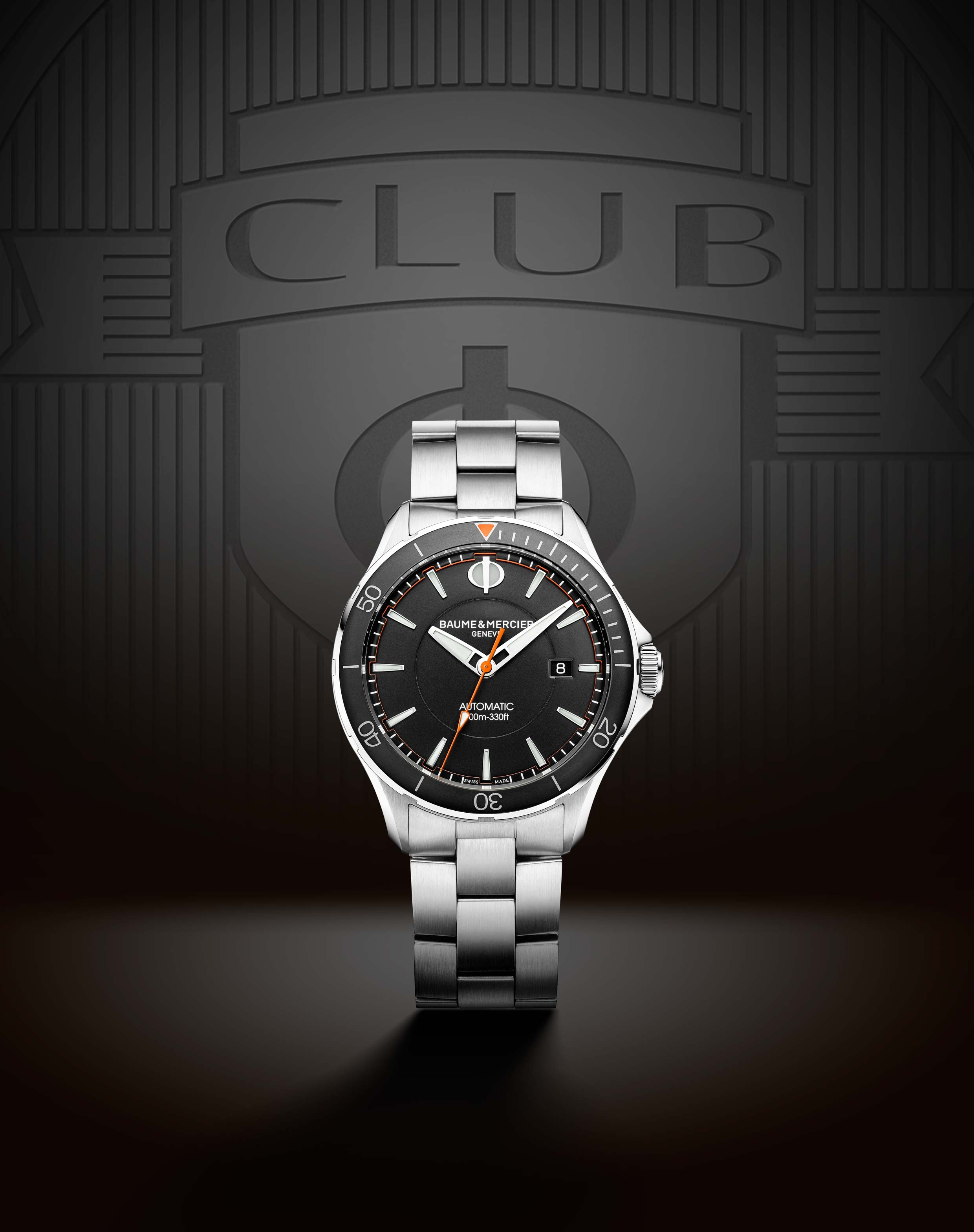 Baume & Mercier Clifton Club Collection comes in bracelet or strap versions.