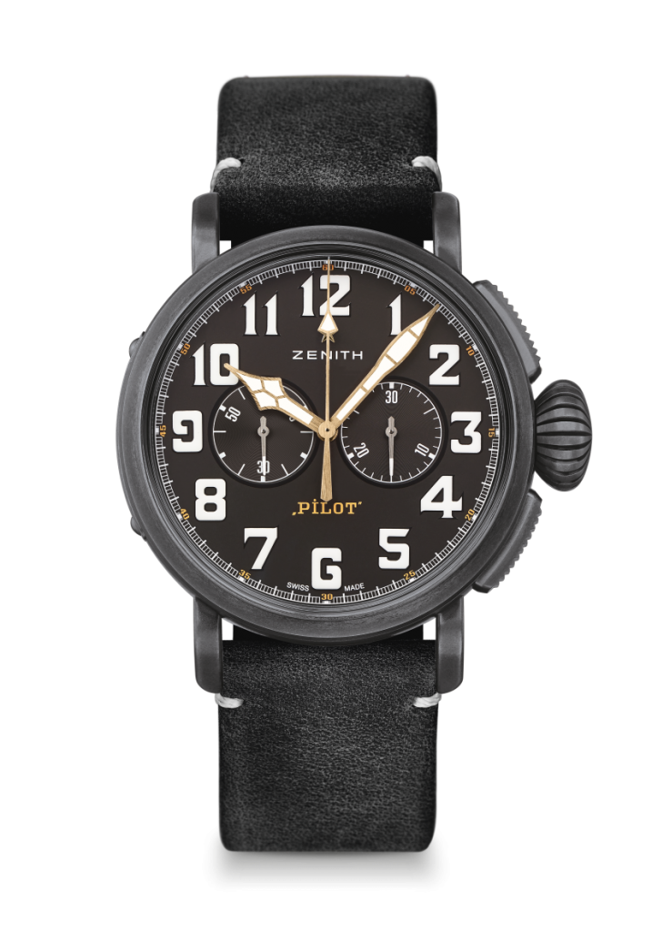Zenith Pilot Ton Up Black