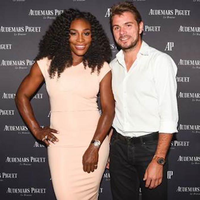 Serena Williams and Stan Wawrinka, both Audemars Piguet ambassadors