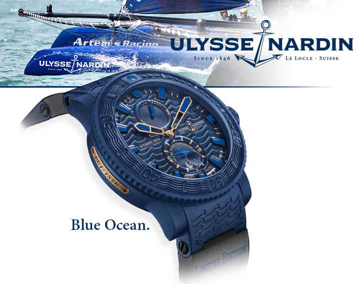 Ulysse Nardin Blue Ocean Marine watch