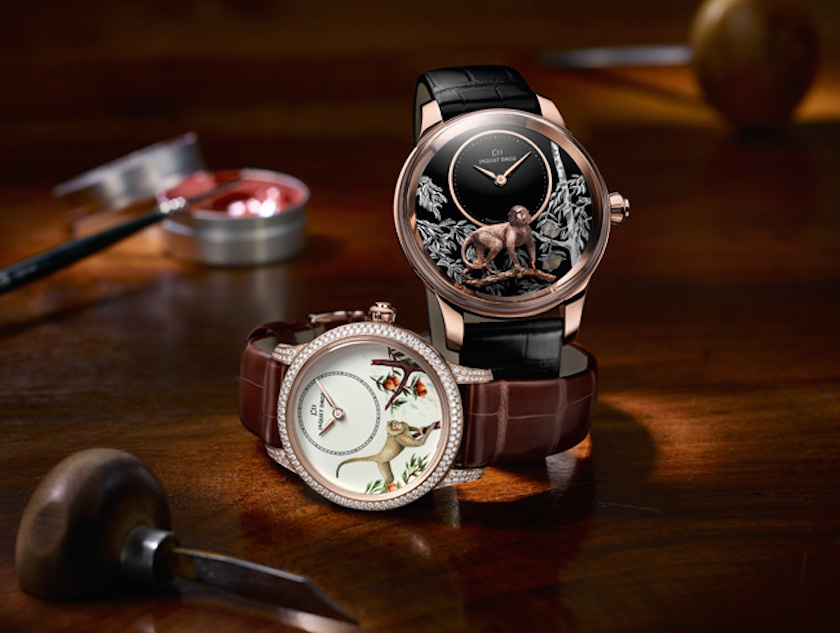 Jaquet Droz Year of the Monkey Petite Heure Minute watches