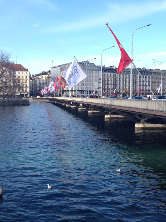 Geneva during the SIHH 2015 (photo: R. Naas)