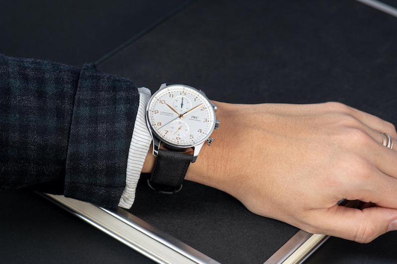 IWC TImberTex paper-based watch strap