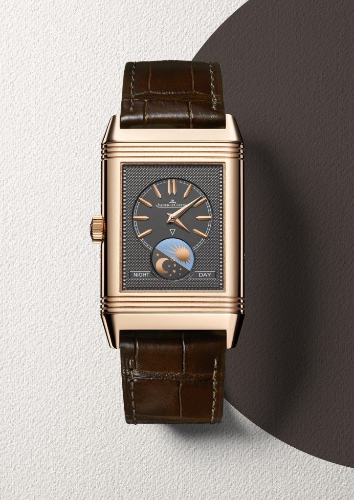 Jaeger-LeCoultre Reverso Tribute Calendar watch in rose gold