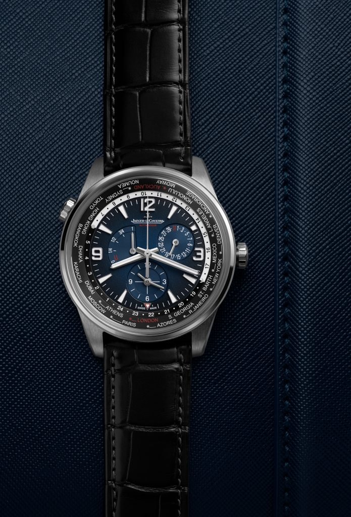 Jaeger-LeCoultre Polaris Geographic World Time watch.
