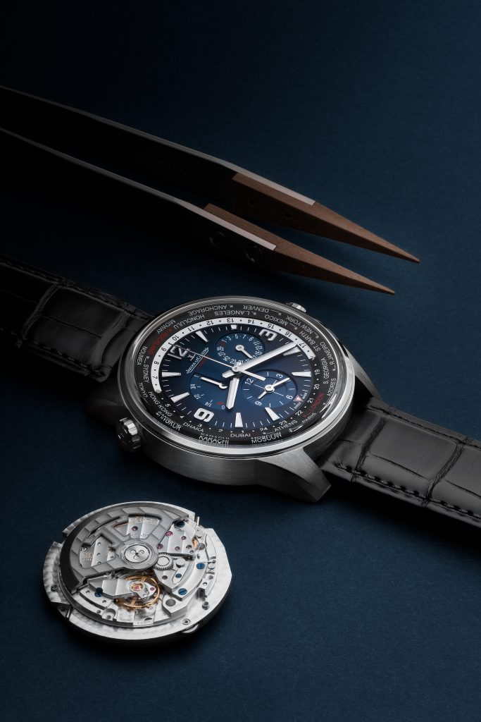 Jaeger-LeCoultre Polaris Geographic World Time watch is created in a limited edition of 250 pieces.
