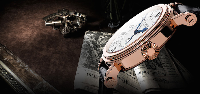 One of the J-Class watches by Speake-Marin