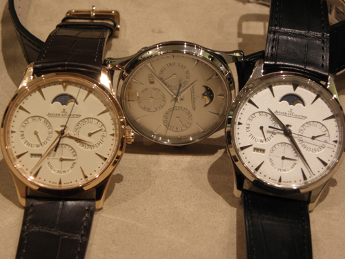 the new Jaeger-LeCoultre Master Ultra Thin Perpetual