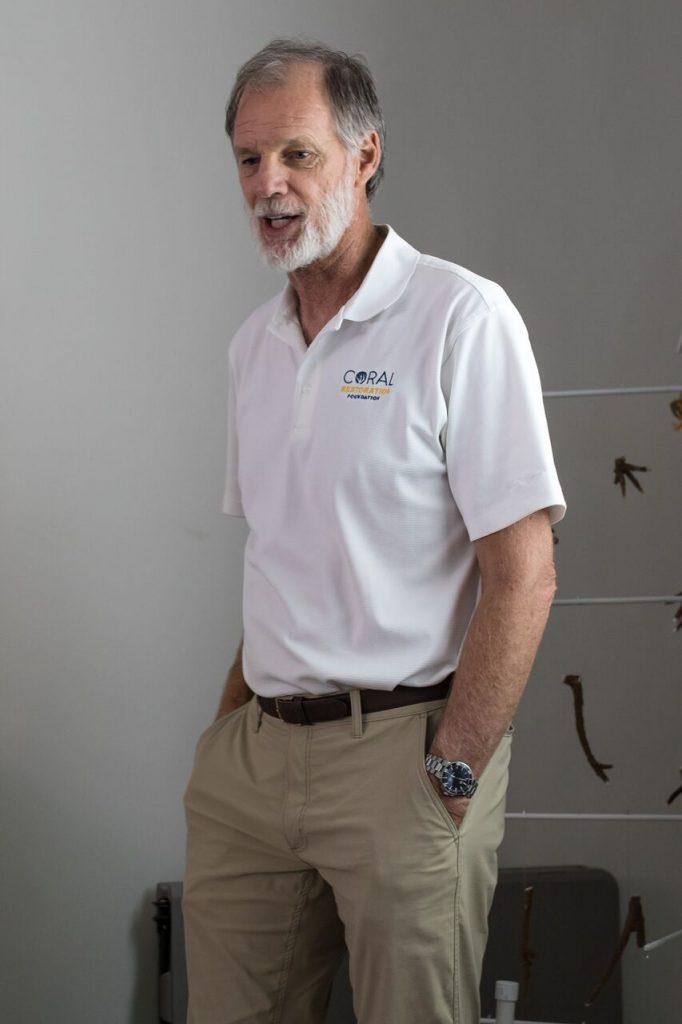 Coral Restoration Founder, Ken Nedimyer.
