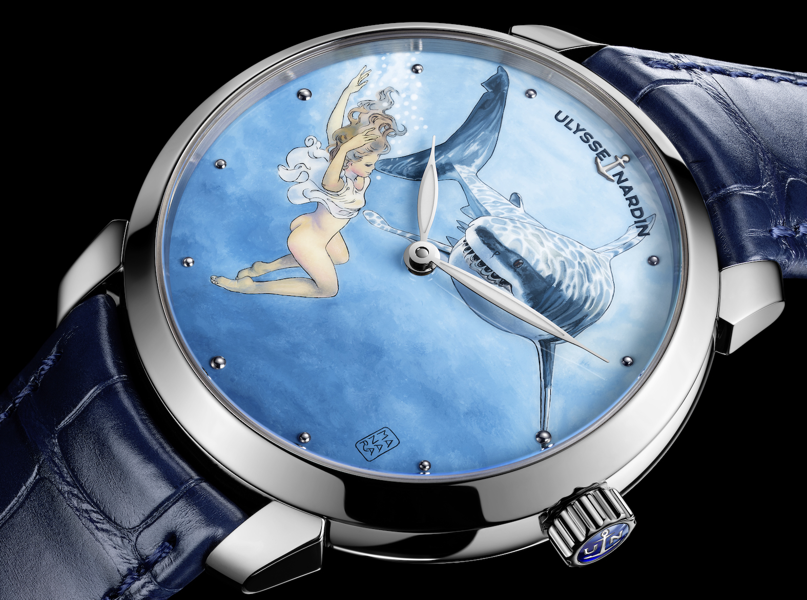Ulysse Nardin Classico Manera erotic watch.