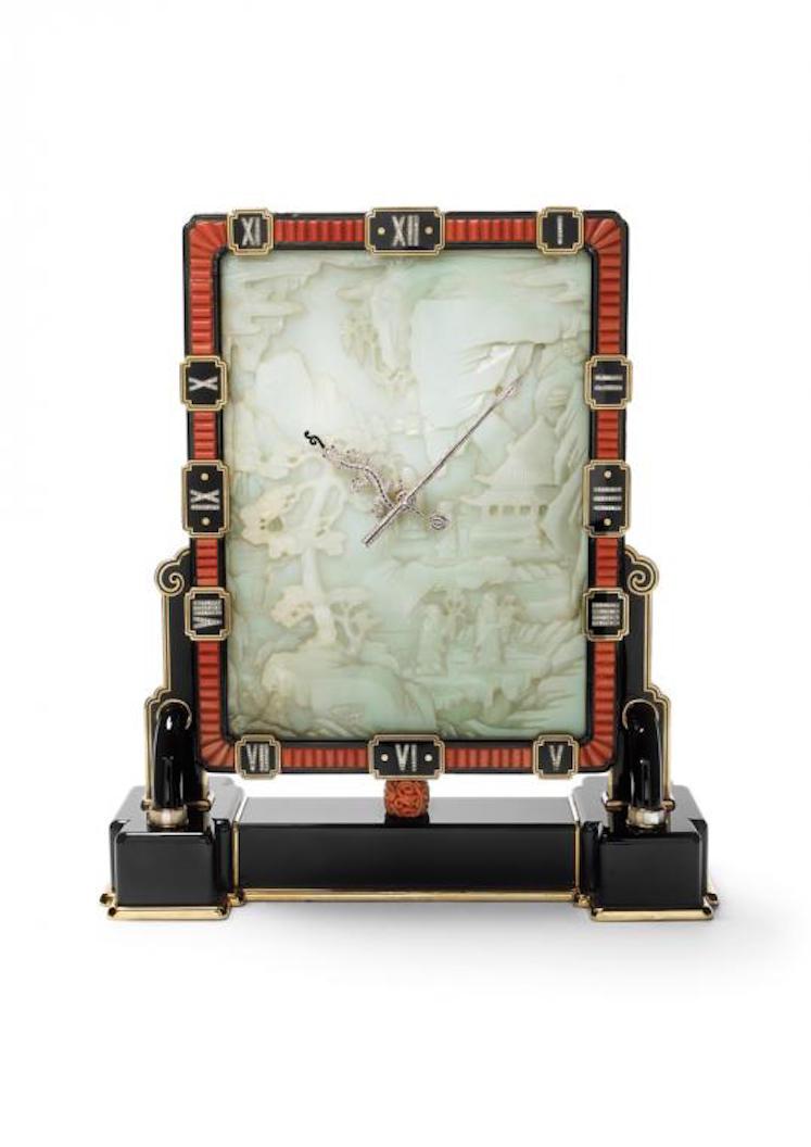 Cartier Screen clock