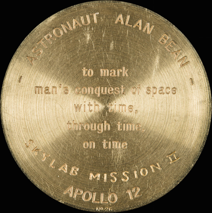 lot 141 Alan Bean Watch reverse