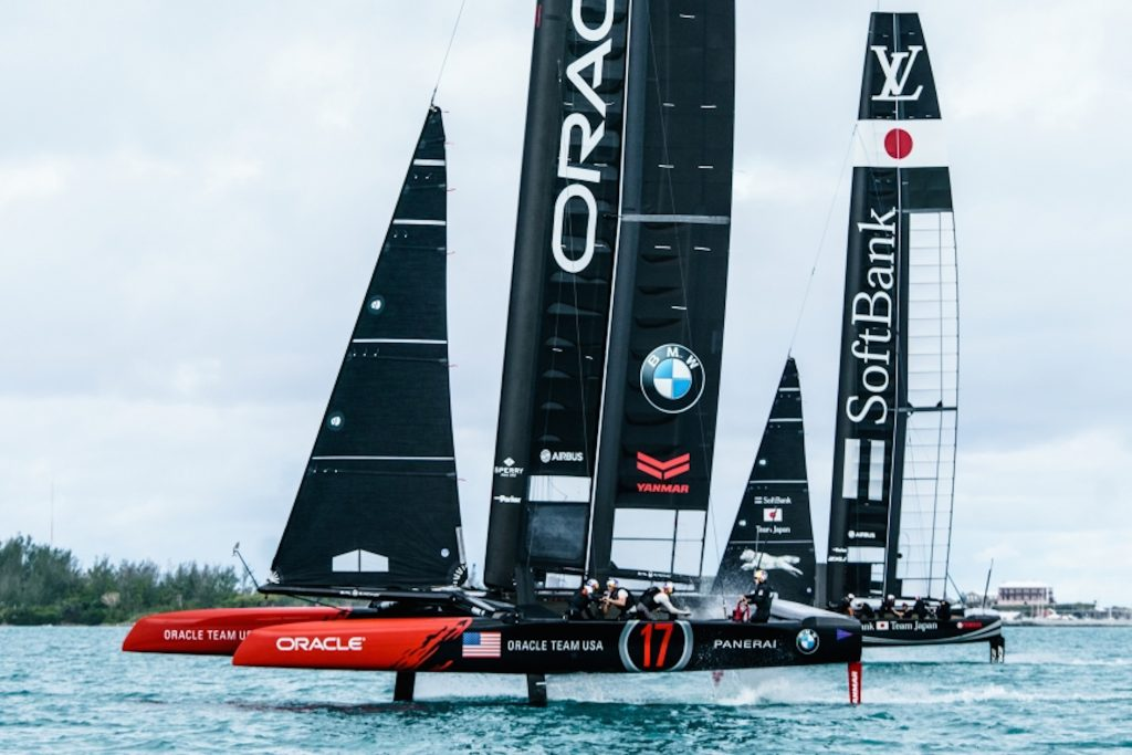 Panerai is the Official Watch of the 35th America's Cup and of the Defenders, Oracle Team USA.