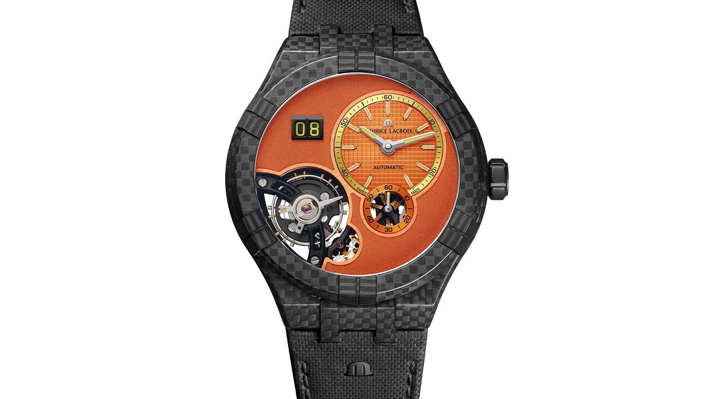 Maurice Lacroix Aikon Master Grand Date Only Watch.